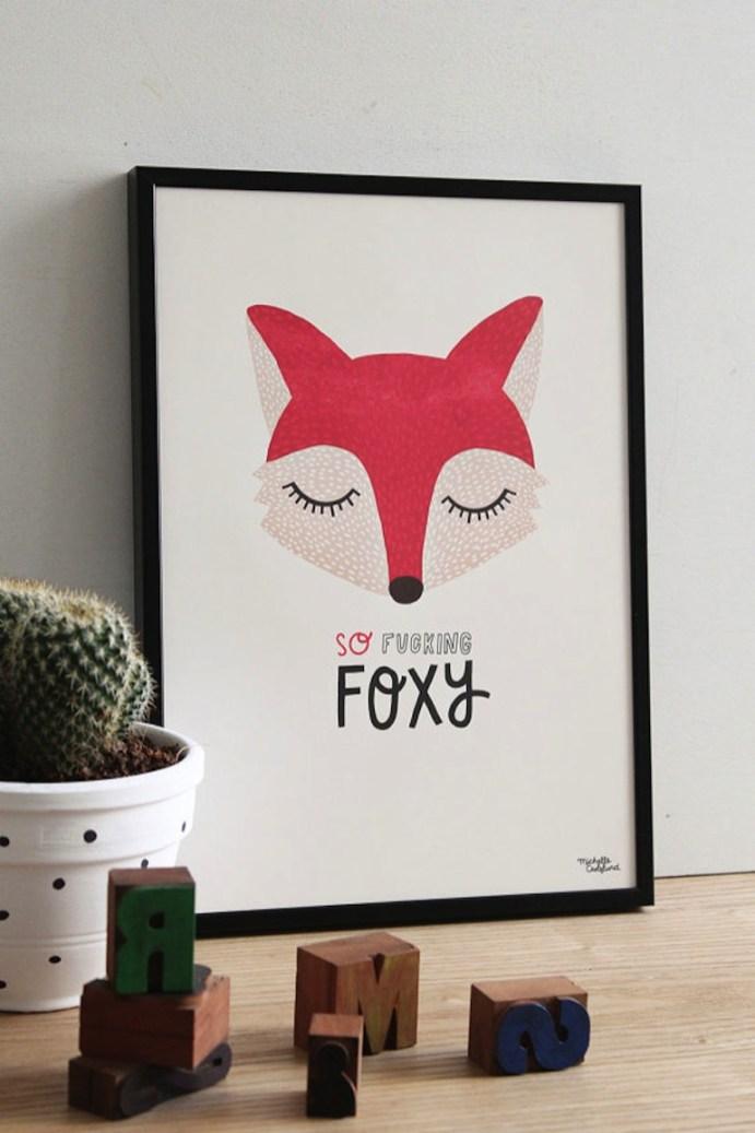 affiche-fox-michelle-carlslund