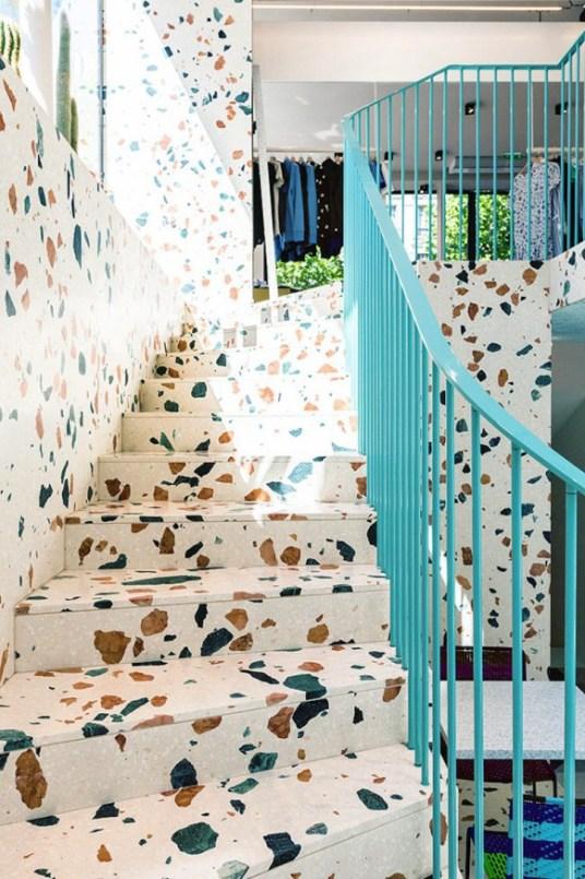 Tendance mouchetée terrazzo Maison Kitsuné x Dzek // Hëllø Blogzine - www.hello-hello.fr