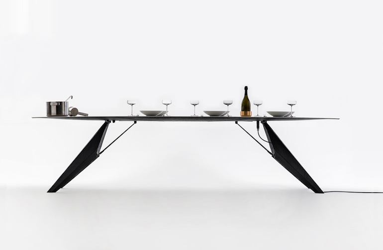 SmartSlab Table Kram Weisshaar