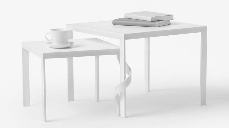 tangle table nendo cappellini milan design