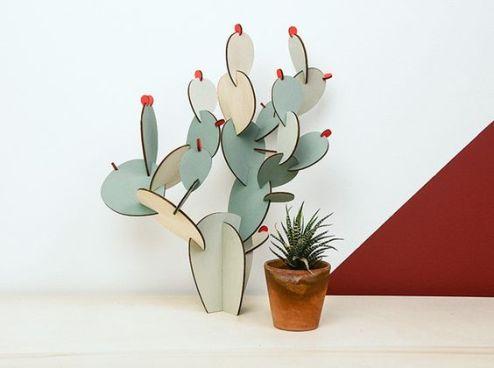 Cactus Papier Tigre // Hëllø Blogzine blog deco & lifestyle www.hello-hello.fr