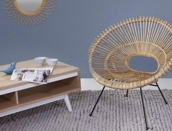 conforama fauteuil hawaii rotin // Hëllø Blogzine blog deco & lifestyle www.hello-hello.fr