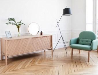 fauteuil George Vert Harto // Hëllø Blogzine Lifestyle - www.hello-hello.fr