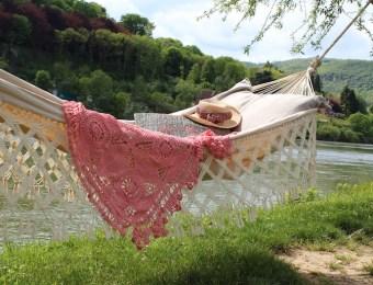 hamac à frange Folk, La Divine Jardine