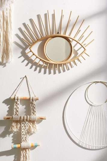 Miroir Rotin Oeil // Hëllø Blogzine blog deco & lifestyle www.hello-hello.fr
