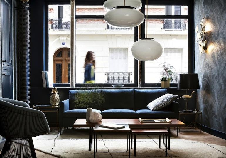 Hôtel Henriette déco vintage // Hëllø Blogzine blog deco & lifestyle www.hello-hello.fr