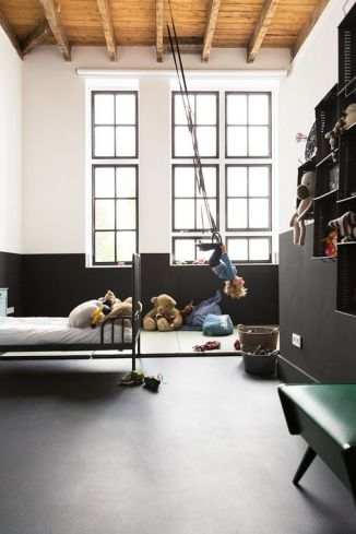 quand la chambre des kids devient un v ritable terrain de jeu h ll blogzine. Black Bedroom Furniture Sets. Home Design Ideas