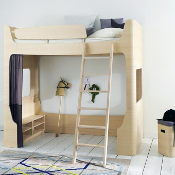 quand la chambre des kids devient un v ritable terrain de. Black Bedroom Furniture Sets. Home Design Ideas
