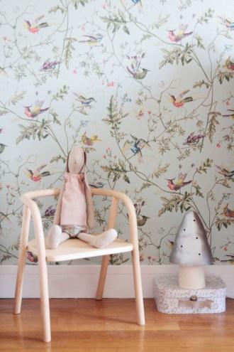 La chambre de Léonie. Déco chambre fille, romantique et vintage // Hëllø Blogzine blog deco & lifestyle www.hello-hello.fr #vintage #maileg #mumanddadfactory