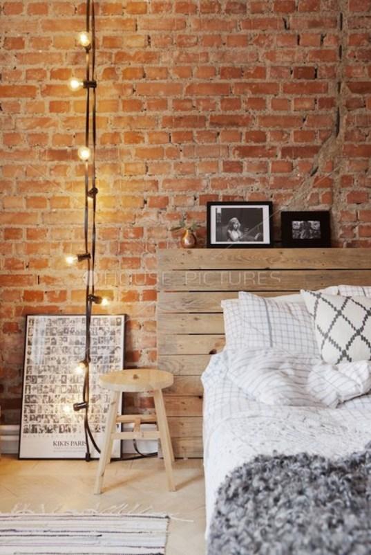 Déco mur de briques // Hëllø Blogzine blog deco & lifestyle www.hello-hello.fr #murdebrique #brickwall