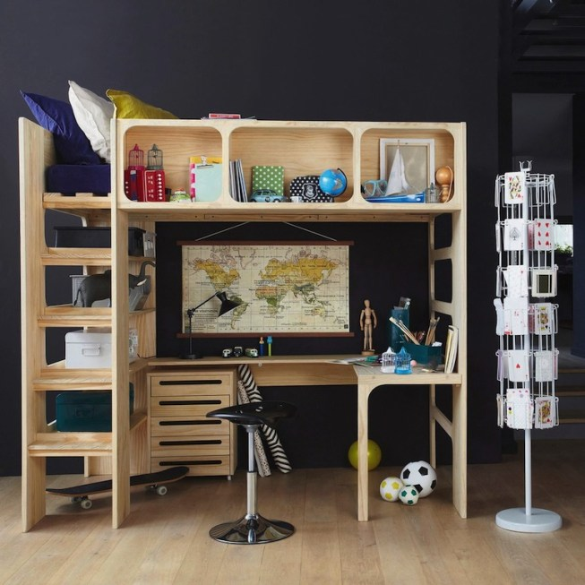 12 inspirations pour d corer une chambre d 39 adolescent. Black Bedroom Furniture Sets. Home Design Ideas