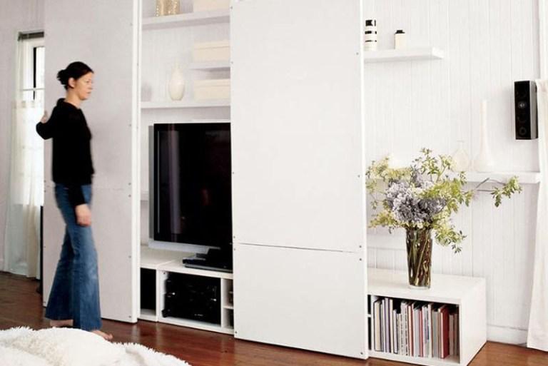 Comment camoufler sa télévision // Hëllø Blogzine blog deco & lifestyle www.hello-hello.fr