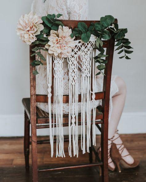 Déco Mariage : Des Idées à Piquer pour chez Soi // Hëllø Blogzine blog deco & lifestyle www.hello-hello.fr #wedding #mariage #deco #macrame