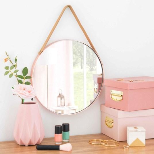 o trouver de jolis miroirs en laiton et m tal dor. Black Bedroom Furniture Sets. Home Design Ideas