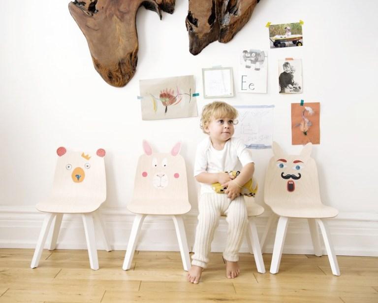 Chaises enfants design // Hëllø Blogzine blog deco & lifestyle www.hello-hello.fr #chaises #chairs #kids #vintage #design