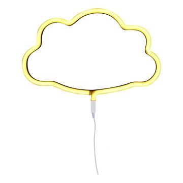 Lampe neon nuage // Hëllø Blogzine blog deco & lifestyle www.hello-hello.fr