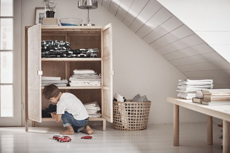 Le Superbe Buffet En Rotin De La Collection Stockholm De Ikea