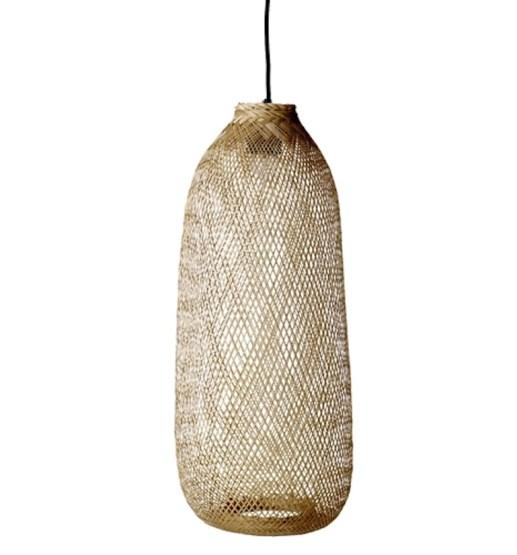 Jolies suspensions en rotin pour ambiance bohème chic // Hëllø Blogzine blog deco & lifestyle www.hello-hello.fr #rotin #bambou #rattan