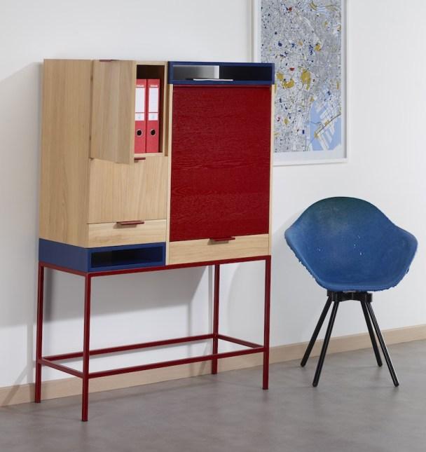 Bureau escamotable // Hëllø Blogzine blog deco & lifestyle www.hello-hello.fr #cosykorner #design #