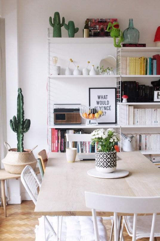 int rieur parisien d co scandi de la blogueuse azzed. Black Bedroom Furniture Sets. Home Design Ideas