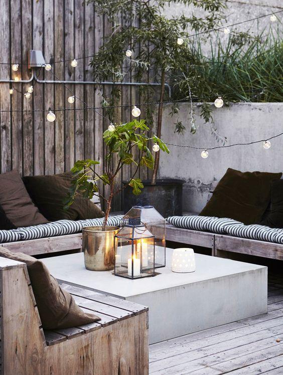 Comment aménager son extérieur, jardin, terrasse ou balcon avec style