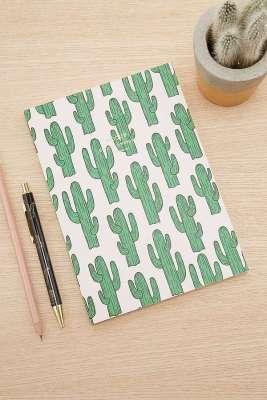 Carnet cactus Woouf // Hëllø Blogzine blog deco & lifestyle www.hello-hello.fr