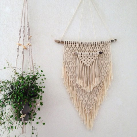Tendance déco Macramé // Hellø Blogzine Blog déco Lifestyle - www.hello-hello.fr #deco #boho #boheme #folk #gypsy #gypset //