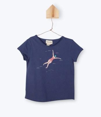 T-shirt Arsène et les Pipelettes Nageuses retro, plongeuses vintage, baigneuses // Hëllø Blogzine blog deco & lifestyle www.hello-hello.fr