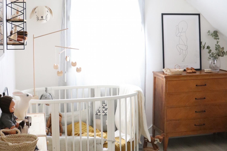 Chambre d 39 enfant la d co r tro et nature de jude - Deco chambre nature ...