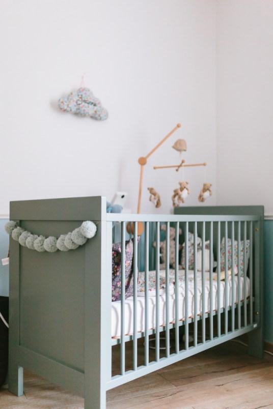 Déco de la chambre de Jeanne la fille de Clémentine, le Blog de Madame C © Marta Puglia // Hëllø Blogzine blog deco & lifestyle www.hello-hello.fr