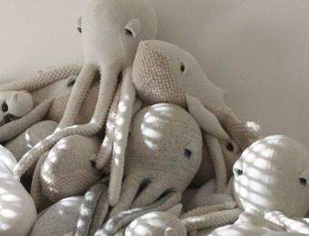 Les animaux marins de Big Stuffed sur Etsy // Hëllø Blogzine blog deco & lifestyle www.hello-hello.fr