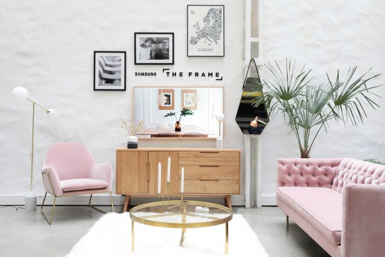 The Frame, une télé qui se transforme en cadre ! // Hëllø Blogzine blog deco & lifestyle www.hello-hello.fr