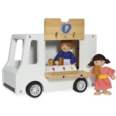 Camion à glace en bois - Idées cadeaux de noël enfants mixte // Hëllø Blogzine blog deco & lifestyle www.hello-hello.fr