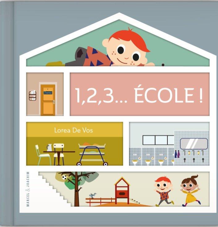 Livre 1,2,3...Ecole - Idées cadeaux de noël enfants mixte // Hëllø Blogzine blog deco & lifestyle www.hello-hello.fr