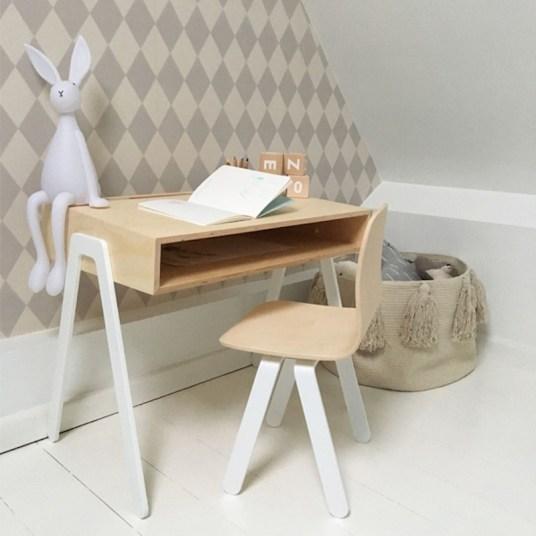 In2Wood, Uun Bureau En Bois Design Pour Les Ados Et Les Enfants