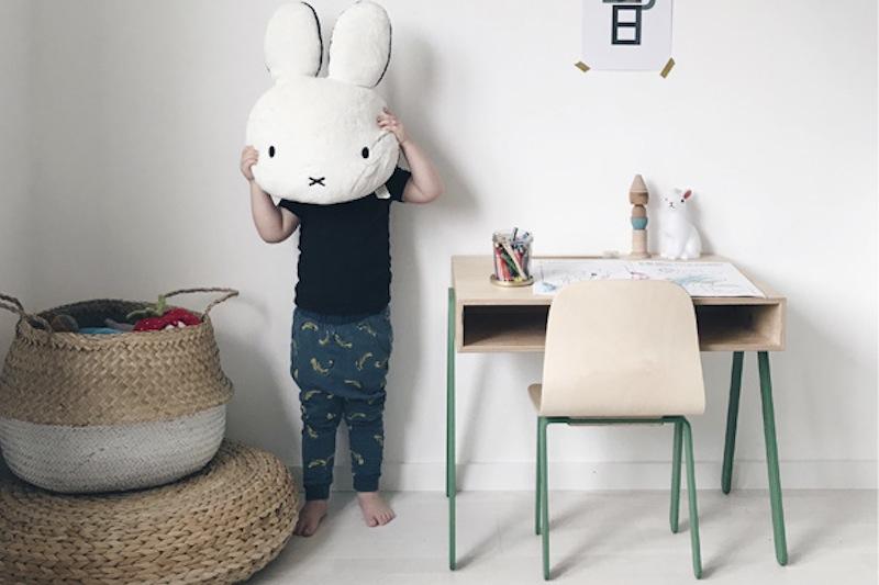 In wood uun bureau en bois design pour les ados et les enfants