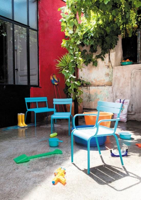 Banc Fermob enfant Smallable // Hellø Blogzine blog deco & lifestyle www.hello-hello.fr