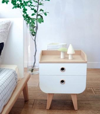 Table de nuit Smallable // Hellø Blogzine blog deco & lifestyle www.hello-hello.fr