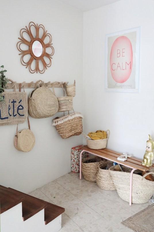 La maison nature et slow life d'Emilie du blog Choufleur La Jolie Paillette // Hëllø Blogzine blog deco & lifestyle www.hello-hello.fr
