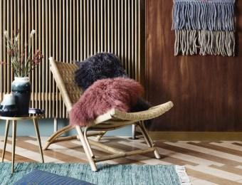 Un fauteuil en rotin tressé lounge // Hëllø Blogzine blog deco & lifestyle www.hello-hello.fr