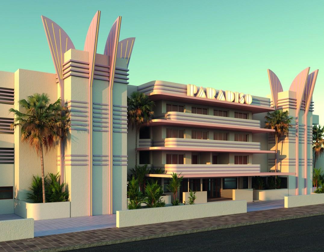 Ces hôtels ultra instragrammables qui nous font rêver Paradiso Art Hotel// Hëllø Blogzine blog deco & lifestyle www.hello-hello.fr