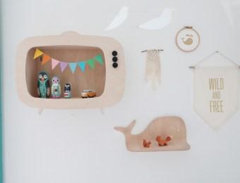 Etagere TV pour enfant Up Warsaw // Hellø Blogzine - Blog Deco Lifestyle