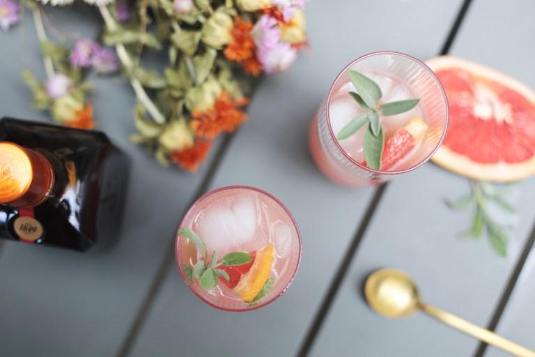 Cocktail d'été Cointreau Fizz Pamplemousse Sauge // Hëllø Blogzine blog deco & lifestyle www.hello-hello.fr #livemixshare #cointreaufizz
