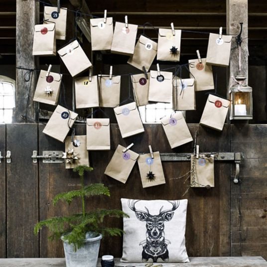 Les jolis calendriers de l'avent // Hellø Blogzine, blog déco Lifestyle - www.hello-hello.fr