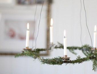 Couronne de Sapin pour Noël