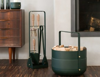 Les accessoires design pour la cheminée // Hellø Blogzine - Blog déco lifestyle - www.hello-hello.fr
