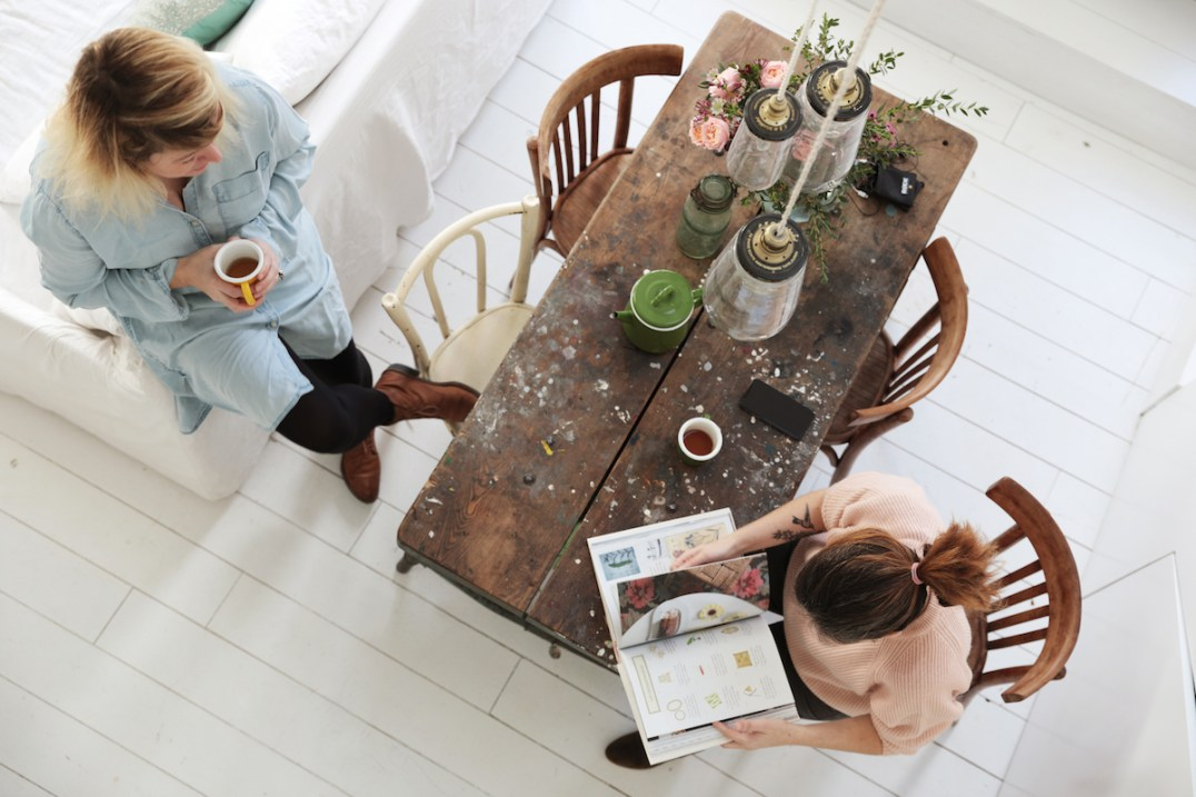 Home Tour Le duplex campagne chic de Zoe de las Cases // Hellø Blogzine blog deco & lifestyle www.hello-hello.fr