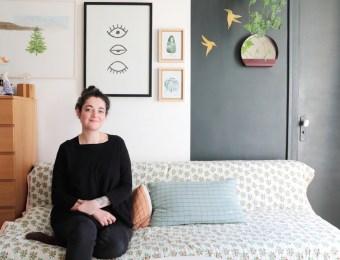 Chez Déborah, cofondatrice de Studio ADC // Hëllø Blogzine blog deco & lifestyle www.hello-hello.fr