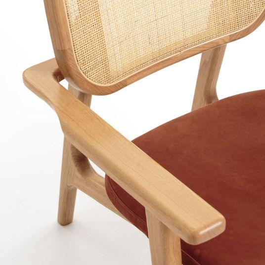 fauteuil-cannage-cuir