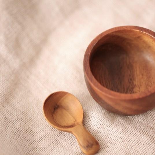 Petite cuillère en bois, 3,50 €